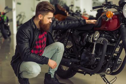J'achète une moto